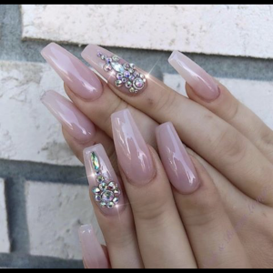 nail design with stones 6