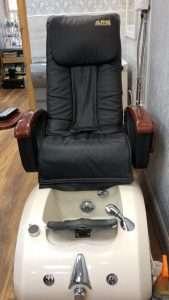 usa nailz edinburgh pedicure chair